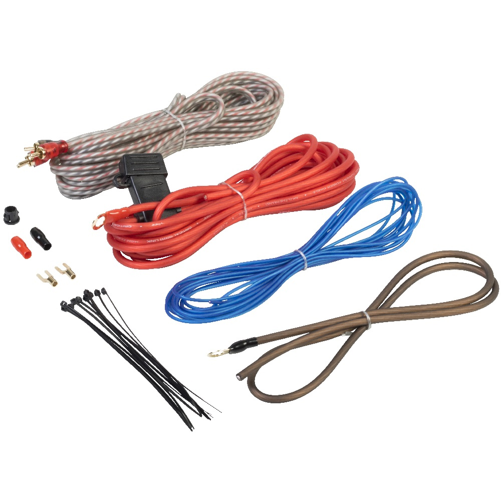 Vibe 10 AWG Amplifier Wiring Kit CL10AWK-V7 - Rivonia Car Sound