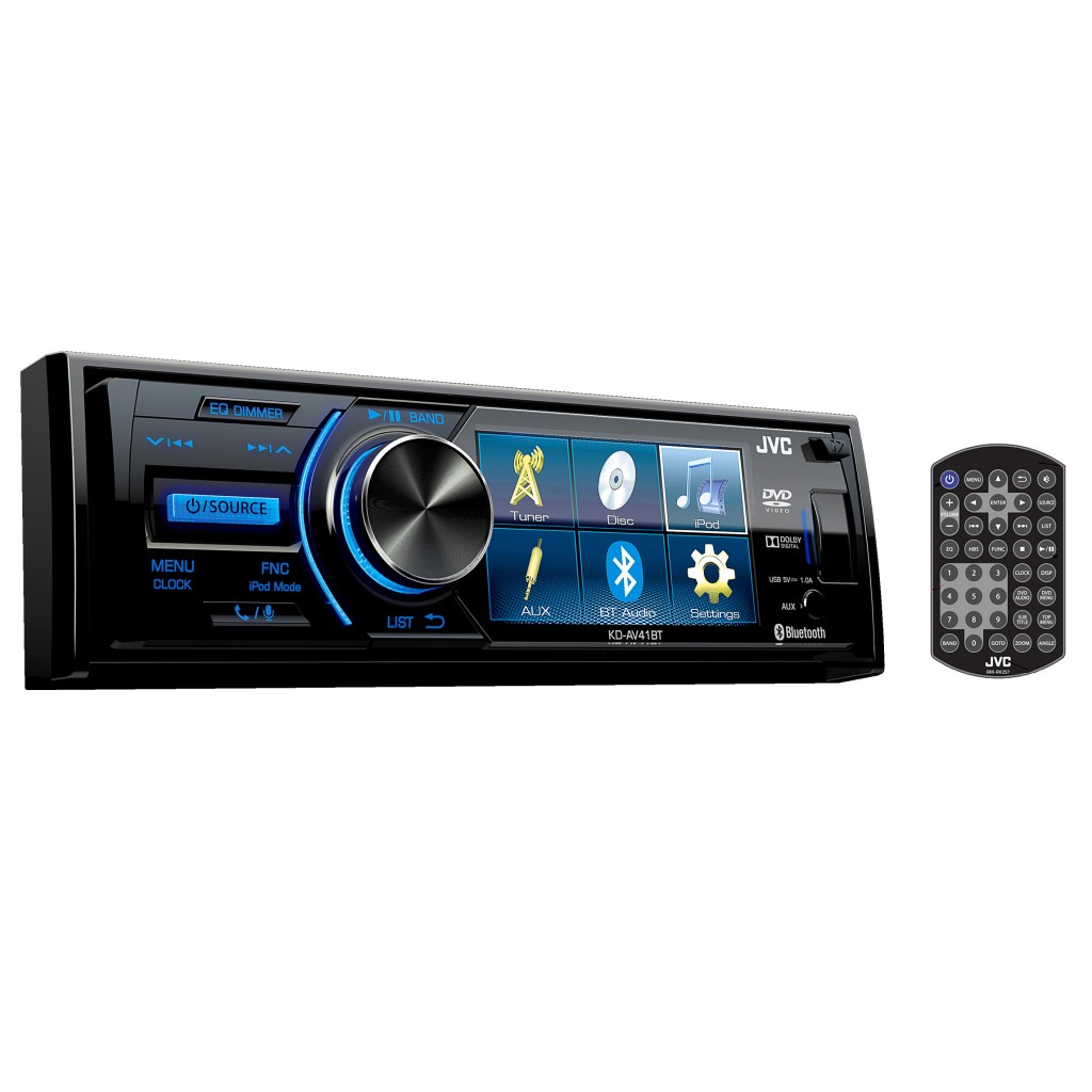 jvc head unit kd av41bt rivonia car sound. Black Bedroom Furniture Sets. Home Design Ideas