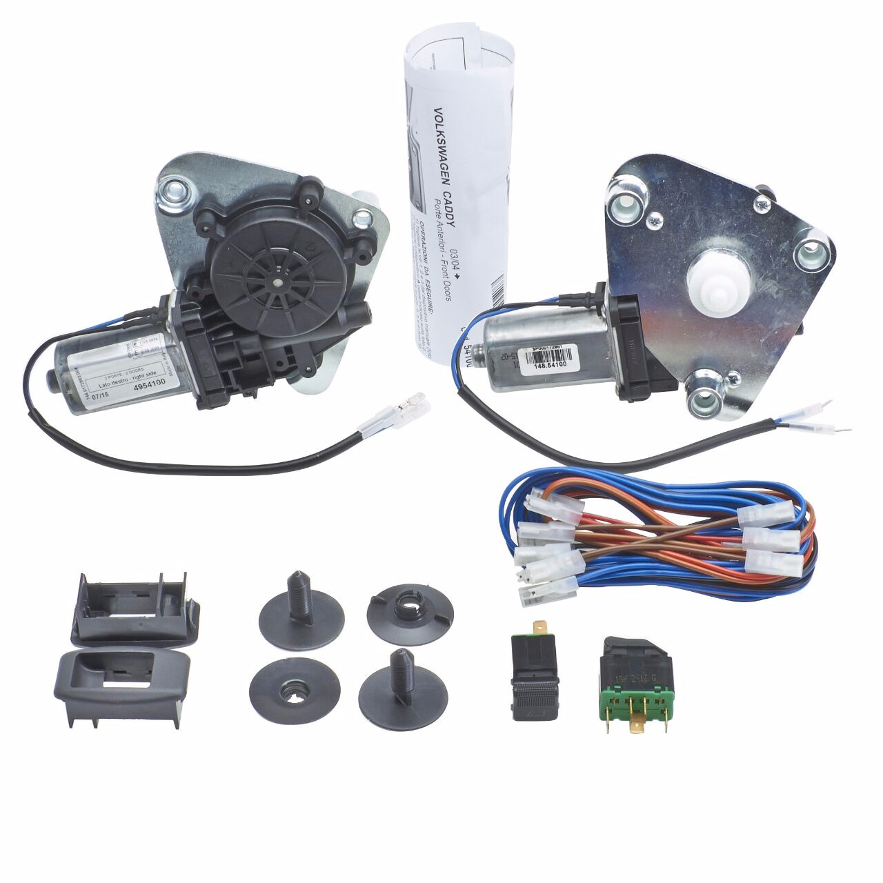 Electric Windows For Vw Polo Vivo And Dedicated Front Window Kit Volkswagen 9n Wiring Diagram